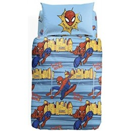 Caleffi Copripiumino Piazza e Mezza Spider man New York Unica in Cotone - 1002409