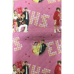 Disney Copriletto Trapuntato High School Musical HSM Quilt da Mezza Stagione Rosa 1 Piazza e Mezza 220x270cm Anche Matrimoniale
