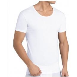 Sloggi - Maglietta Basic 24/7, confezione da 8