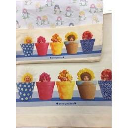 Anne Geddes Completo Culla Flowerpot Culla Bianco/Giallo 93 x 120 cm