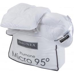 Daunex Micro 95° Warm Piumino, Poliestere-Microfibra, Argento, Oro, A Una Piazza E Mezza, 200x200x2 cm