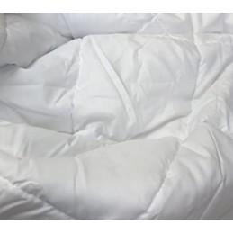 Piumino Bianco estivo letto singolo 1 piazza primaverile 100 grammi microfibra