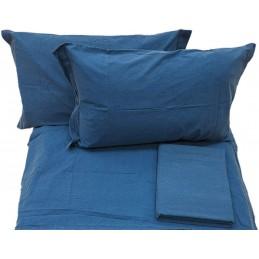 Caleffi Jeans Completo Copripiumino, Cotone, Blu, Singolo