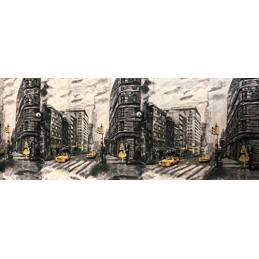Suardi Tappeto con Antiscivolo Stampa Digitale Made in Italy (58 x 140 cm)